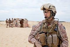 Desert checkpoint royalty free stock photos