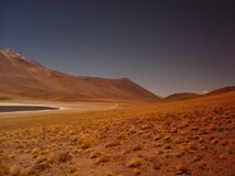 Desert in Chile Stock Photography
