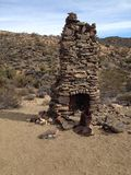 Desert chimney Stock Photography