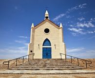 Desert Church Royalty Free Stock Photography