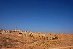 Desert city in tunisia Stock Photography