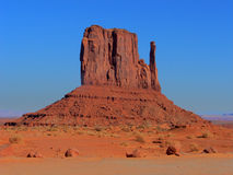 Desert Colors. Red rock formation at Monument Valley Tribal Park stock photos