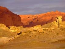 Desert of colors stock photos
