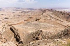 Desert crater cliffs mountains. Stock Photography