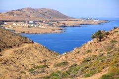 Desert at Crete Stock Photo