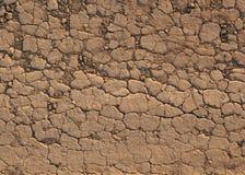 Desert crust soil Stock Images