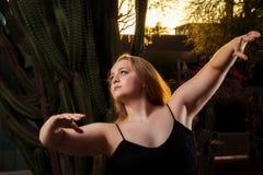 Desert Dancer Royalty Free Stock Images