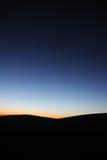 Desert in dawn Royalty Free Stock Photos