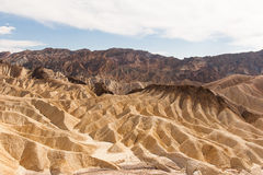 The desert of death valley Stock Image