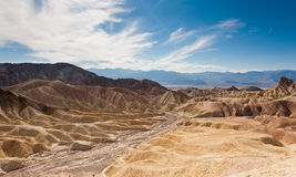 The desert of death valley Stock Images