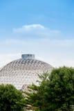 Desert Dome Henry Doorly Zoo. Desert Dome at the Henry Doorly Zoo in Omaha Nebraska. The world's largest indoor deser., The desert glazed geodesic Dome has Royalty Free Stock Photography