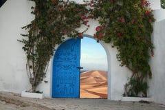 Desert door Stock Images
