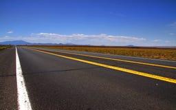 Desert drive Stock Photo