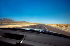 Desert Drive Royalty Free Stock Image