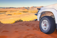Desert drive Stock Photography