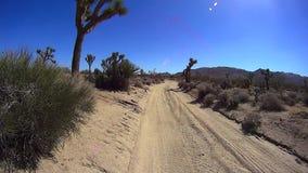 Desert Drive Joshua Tree Park California. Desert Drive backcountry scenes Joshua Tree Park California USA ©2015 J. Stuart Edmondson XcorpsTV.com stock video