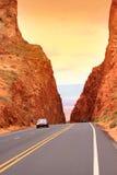 Desert drive Royalty Free Stock Image