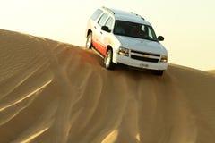 Desert driving Stock Image