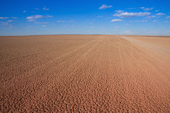 Desert dry pan Royalty Free Stock Photography