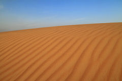 Desert dune Royalty Free Stock Photos