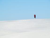 Desert dune photographer Stock Image
