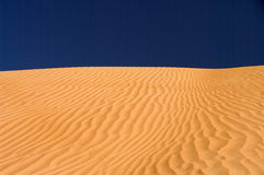 Desert Dune, Wahiba Sands, Oman stock photos