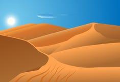 Desert dunes Royalty Free Stock Image