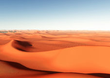 Desert and dunes Royalty Free Stock Photos