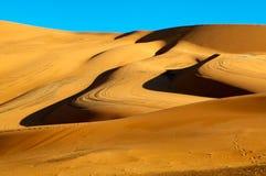 Desert Dunes. Sahara desert sand dunes Royalty Free Stock Photography