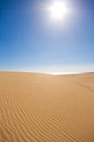 Desert dunes Stock Photography