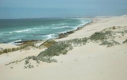 Desert dunes in De hoop nature reserve Stock Image