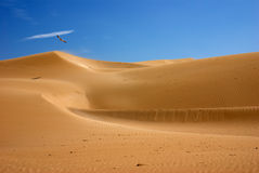 Desert dunes Morocco Stock Photography