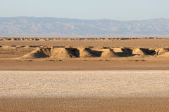 Desert dunes of Sahara Royalty Free Stock Images