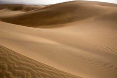 Desert dunes sand in Maspalomas Gran Canaria Royalty Free Stock Image