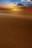 Desert dunes sand in Maspalomas Gran Canaria Royalty Free Stock Photos