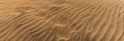 Desert dunes sand texture background in Maspalomas Gran Canaria Royalty Free Stock Photography