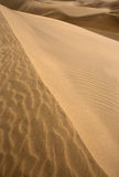 Desert dunes sand texture in Maspalomas Royalty Free Stock Image