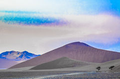 Desert Dunes Stock Photo