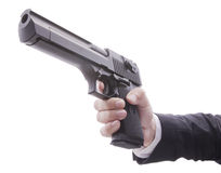 Desert Eagle Pistol Stock Images