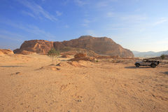 Desert in Egypt Royalty Free Stock Photography