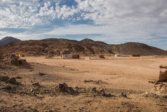 Desert in Egypt Royalty Free Stock Photos