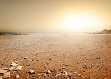Desert in Egypt Royalty Free Stock Photography