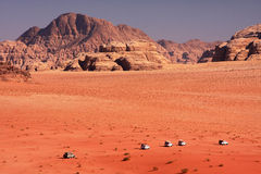 Desert expedition Royalty Free Stock Photos
