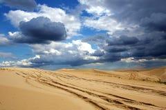 Desert exploration Royalty Free Stock Photo