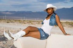 Desert fashion. Royalty Free Stock Photo