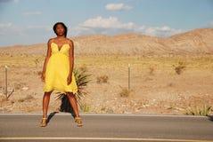 Desert fashion. Royalty Free Stock Photos