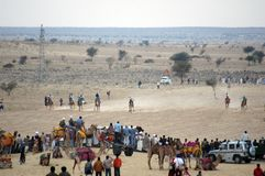 Desert Festival 2009, Jaisalmer, Rajasthan. Stock Photo
