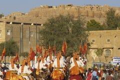 Desert Festival in Jaisalmer, Rajasthan, India Royalty Free Stock Image
