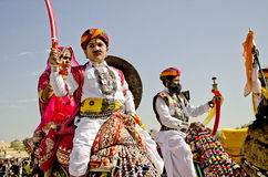 Desert Festival, Jaisalmer, Rajasthan, India Stock Photography