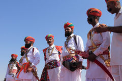 Desert Festival in Rajastan Stock Image
